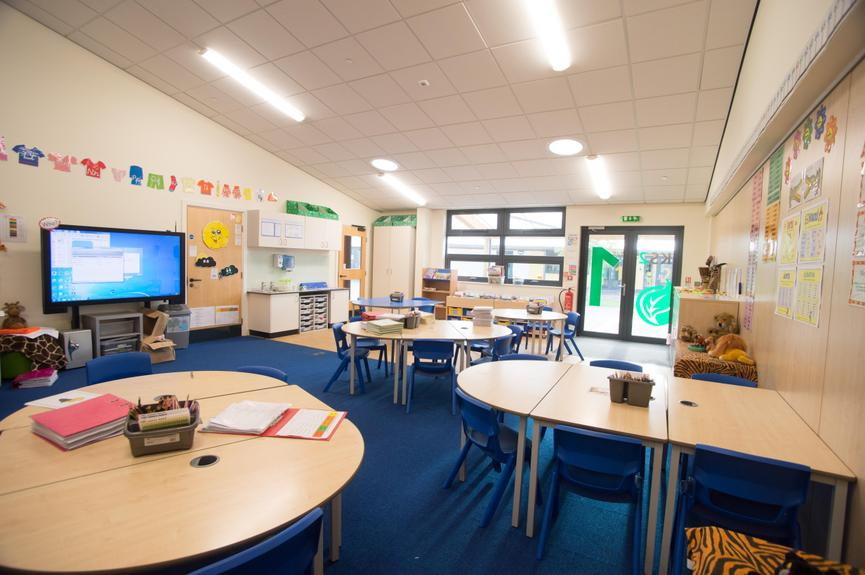 Lower Key Stage 2 Classroom
