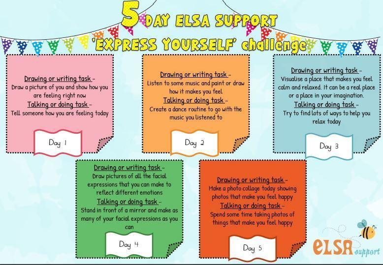 If you would like to join our 5 day challenge, you can print the sheets below!