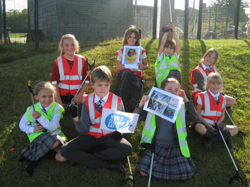 Our School Litter Pick!