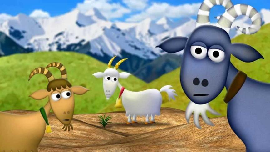 The Three Billy Goats Gruff.