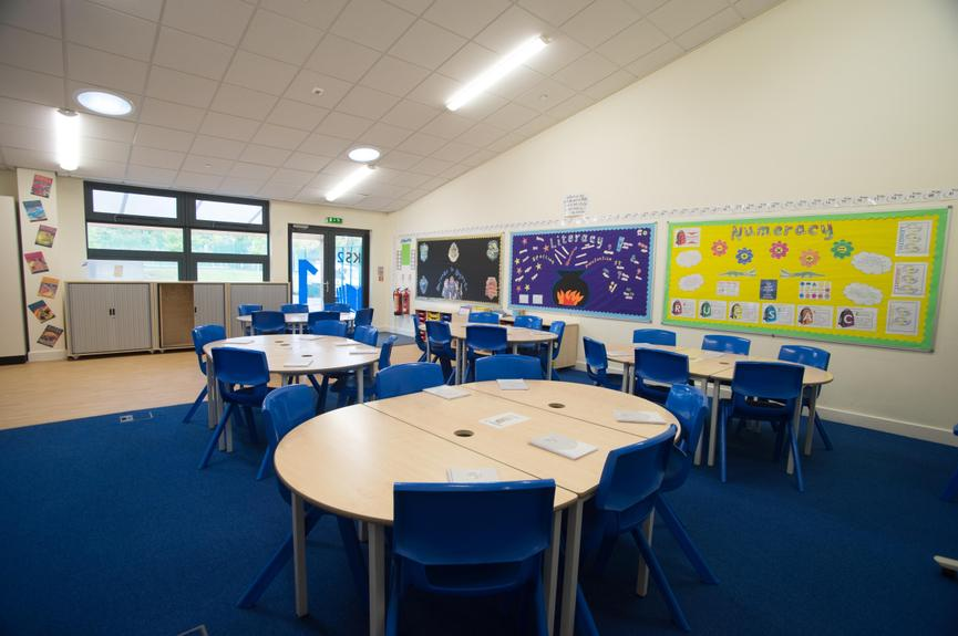 Upper Key Stage 2 Classroom
