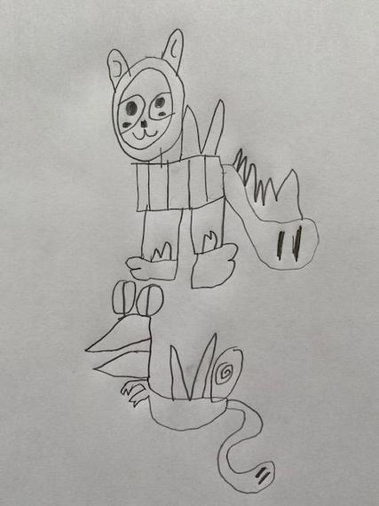 Thomas' animal creations