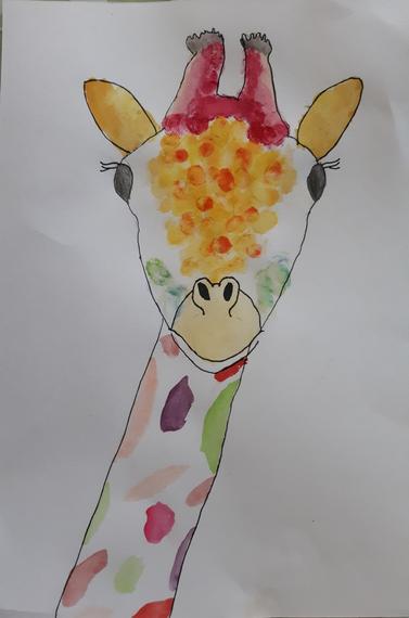 Tilly's giraffe