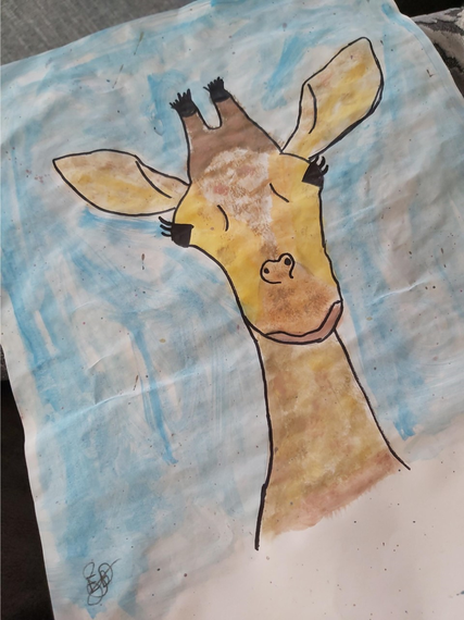 Evie's giraffe