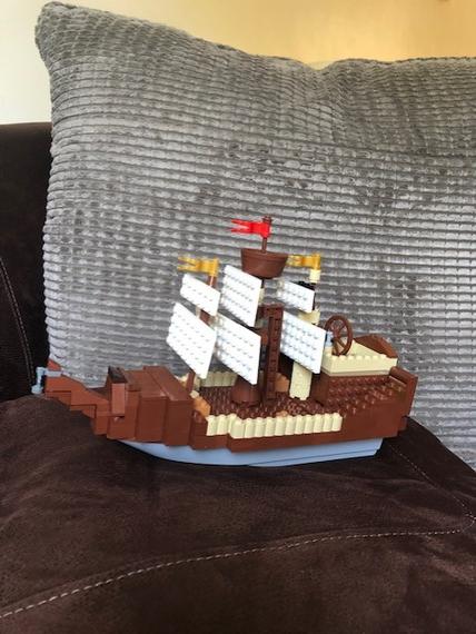 Vinny's model of the Mary Rose