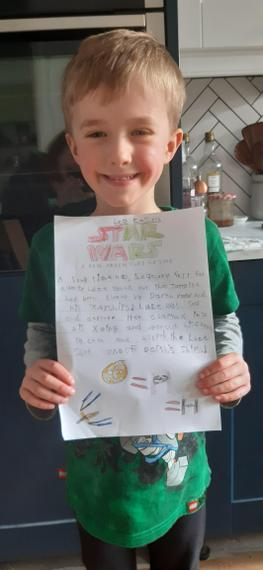 Leo's super Star Wars story