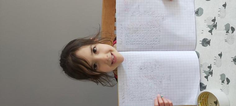 Zoe's fabulous Maths work
