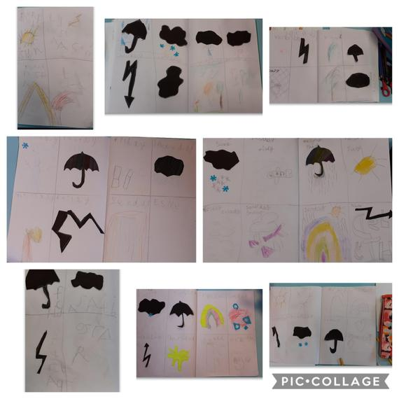Wonderful weather reports from our class bubble