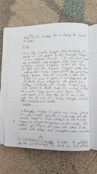 Sam's deadly 60 writing