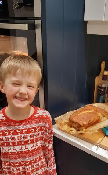 Leo's yummy banana bread