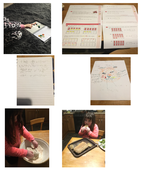 Isla's marvellous home learning week 2