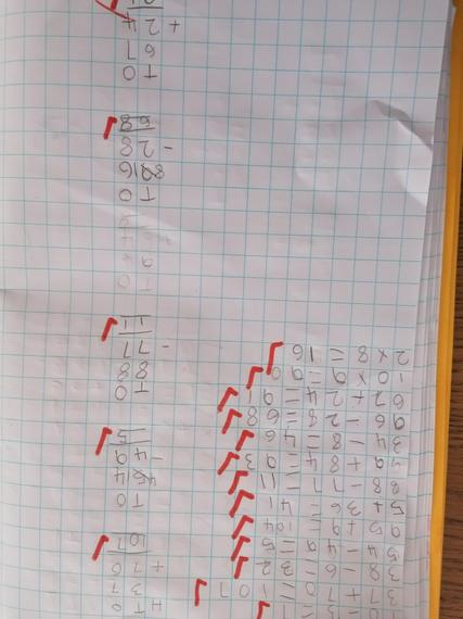Nancy's super Maths