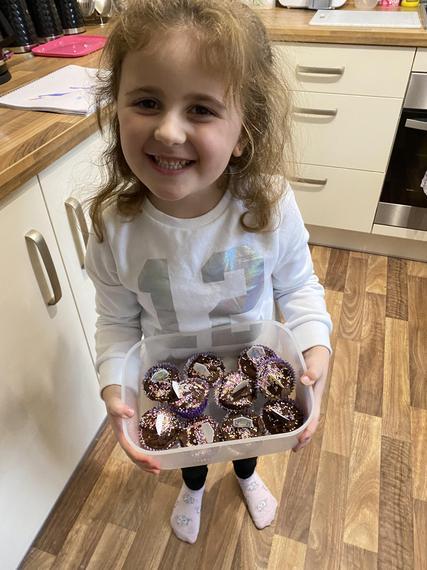 Macie's delicious cupcakes