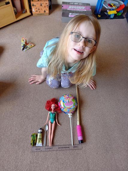 Jazmine's marvellous measuring