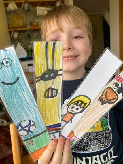 Thomas and his brilliant bookmarks