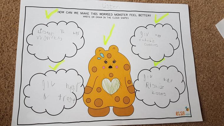 Jazmine's fabulous ideas to make the monster better!