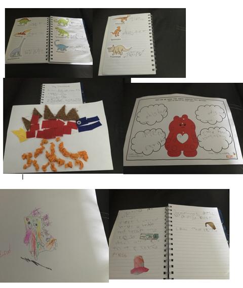 Isla's fabulous home learning