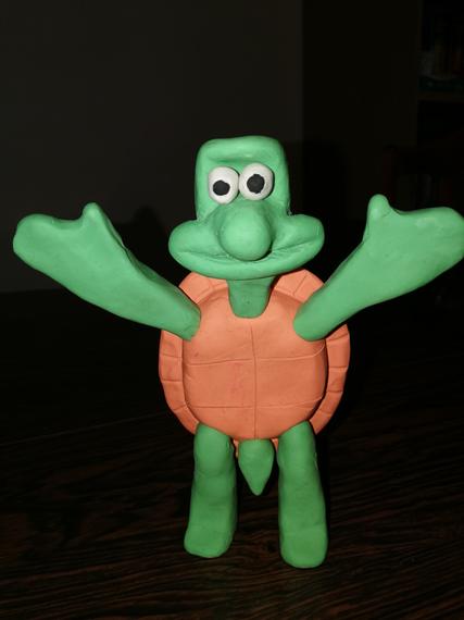 Jasmine's phenomenal clay turtle