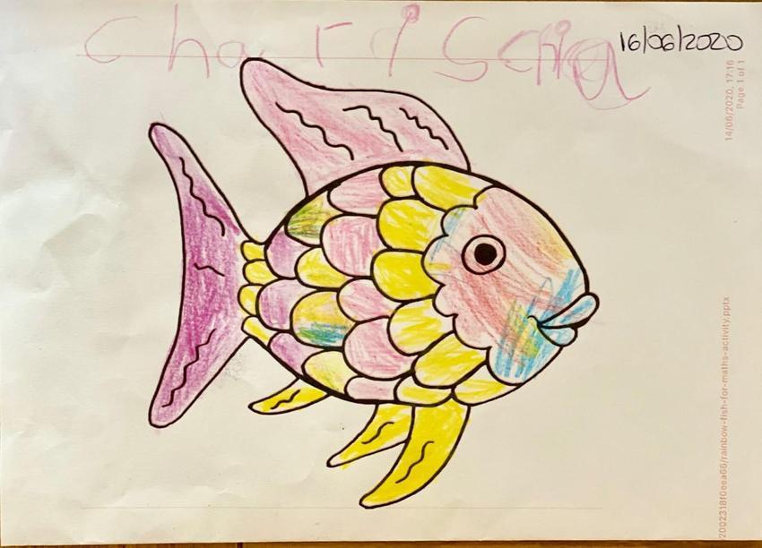 A super Rainbow Fish.