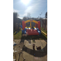 Bouncycastle time with Mason