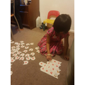 Thenuki and her letter puzzle