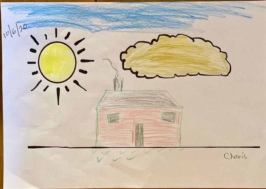 A great drawing Charis - is this your home?