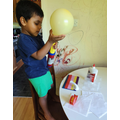 Riyon using the balloon pump