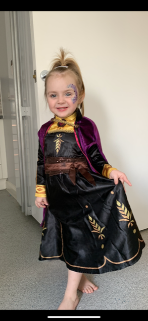 Wow - a super dressing up costume Lexi!