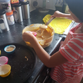 Thenuki making cupcakes