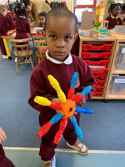 Chijikem made a rainbow wheel