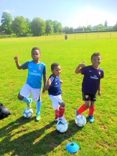 Three footballers!