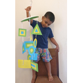 Riyon has made a shape mobile