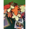 Autumn class prayer tree