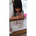 Tabita painting
