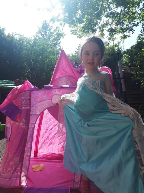 Princess Zoe - is that your castle?