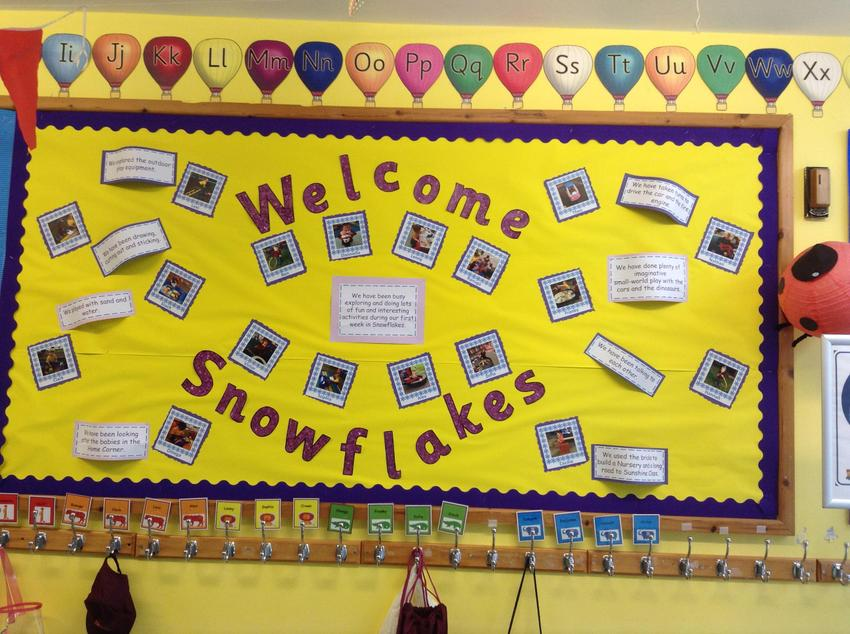 Our Welcome Board.