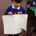 Explaining our ideas.