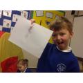 A rocket flying sleigh!