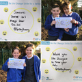 This Safer Internet Day the JPCSOS @SpilsbyPrimary #giveasmile to make the internet a better place!