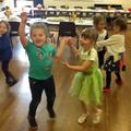 Disco dancing!