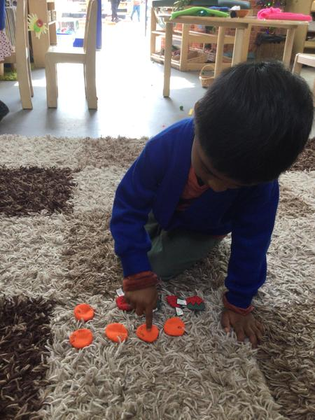 Yahya counts oranges and strawberries altogether