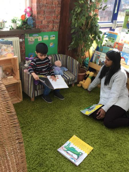 Read to Mrs Parmar