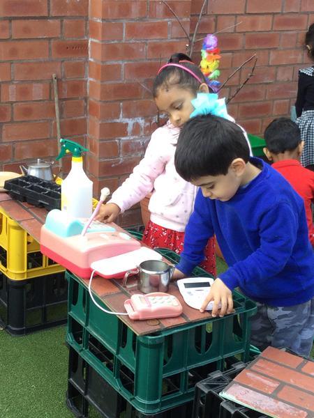 Our garden centre is outdoors