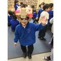 Prabhjit made a mask!