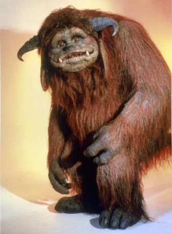 Original Ludo from the film, The Labyrinth.