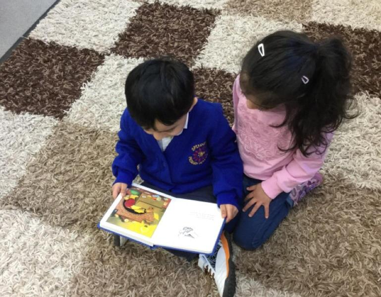 Pritam and Liyana read together
