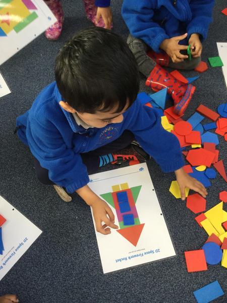 We learn shape names