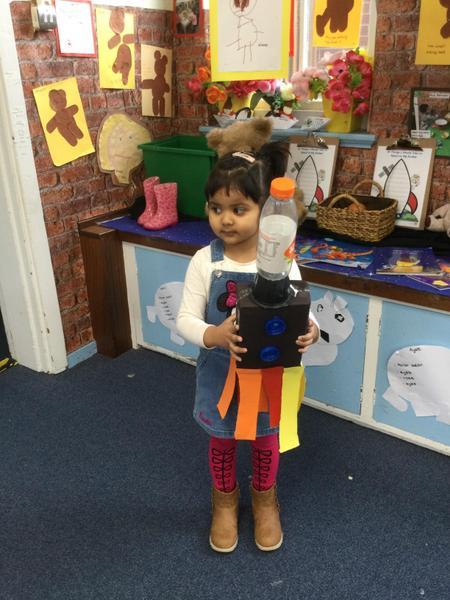 Anwara wants her rocket on display
