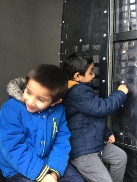 Hashir and Muhammad explore.