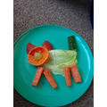 Megan's healthy snack animal
